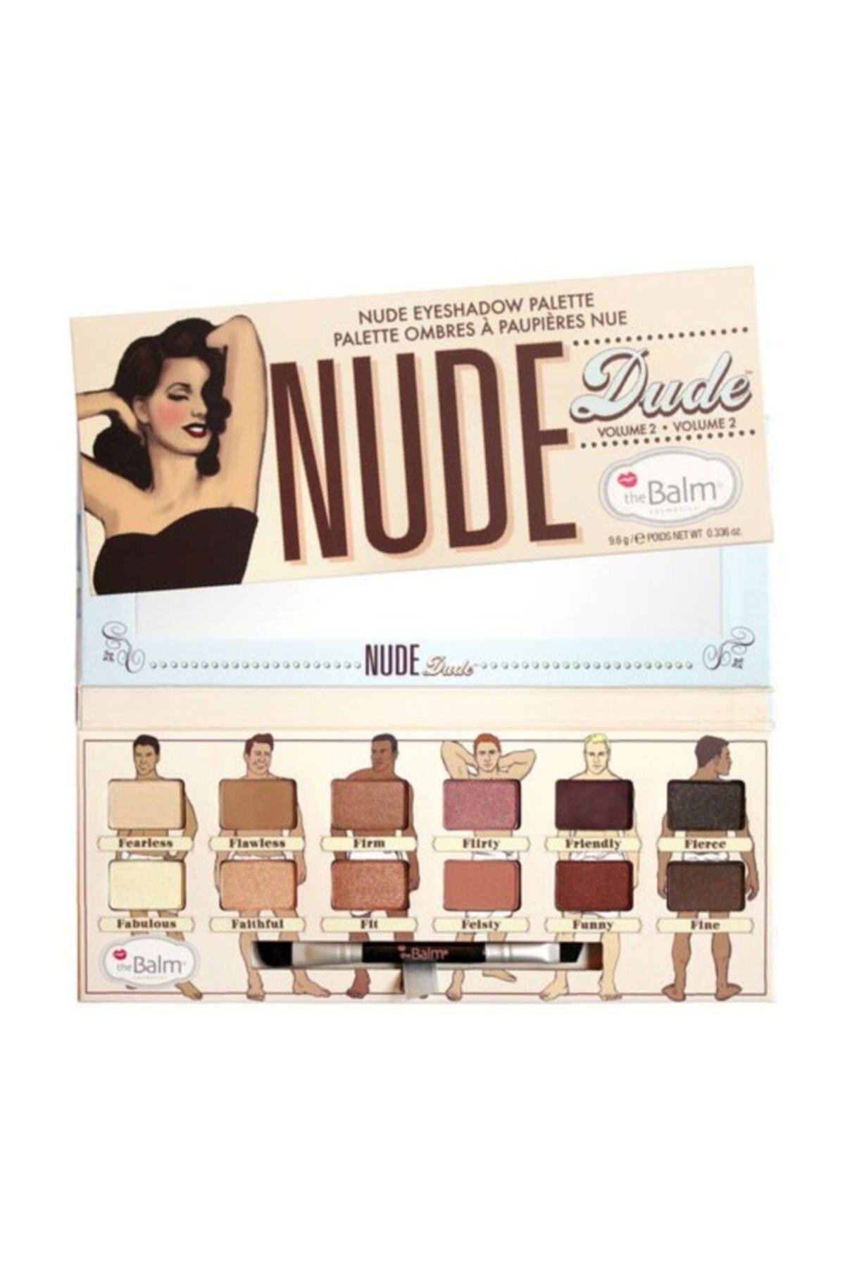 the balm Nude Eyeshadow Palette Far Paleti Dude 1