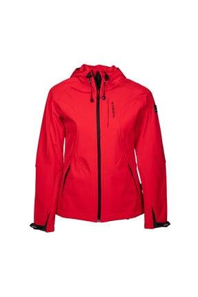 Cresta Kadın Kırmızı Kapüşonlu Ceket
