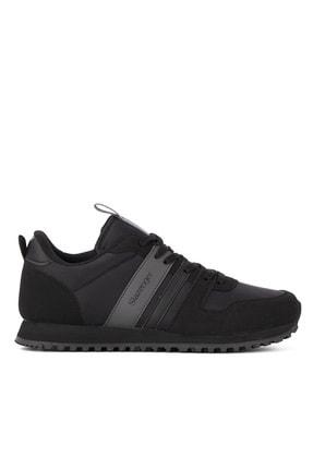 Slazenger Ivan Günlük Giyim Erkek Ayakkabı Siyah / Siyah
