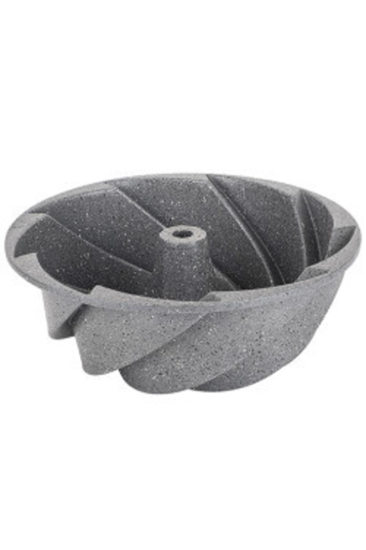Tantitoni Gri Rüzgar Gülü Granit Döküm Kek Kalıbı 1