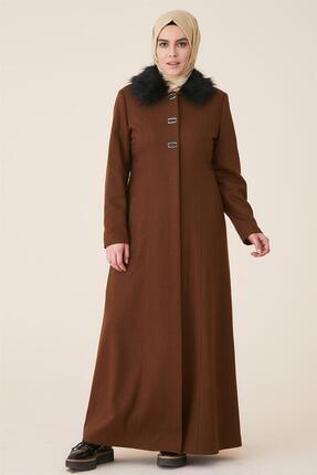 Doque Kadın Kahverengi Kaban