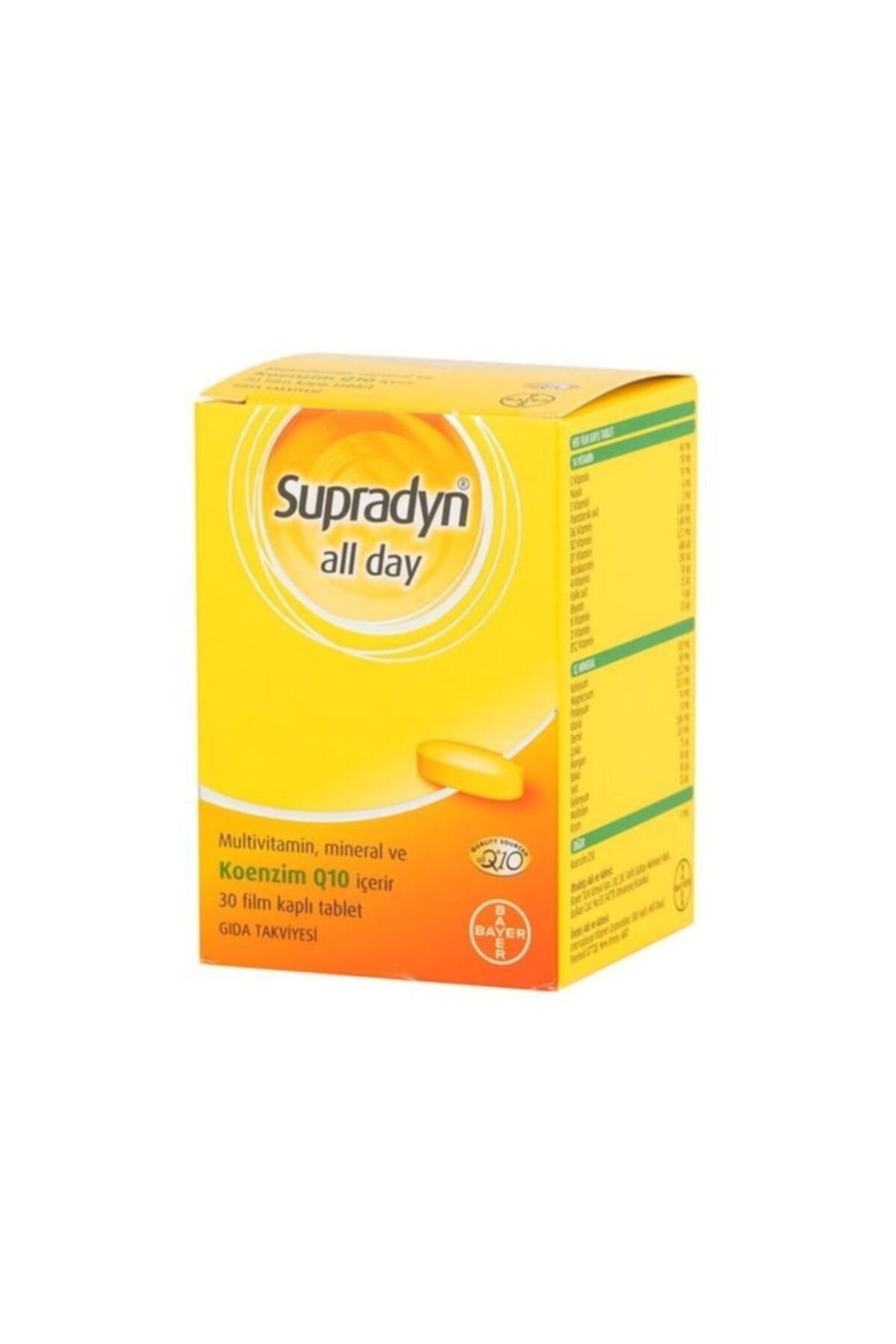Supradyn All Day 30 Tablet 1