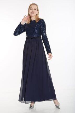 Puane Kadın Lacivert Elbise 12041-17