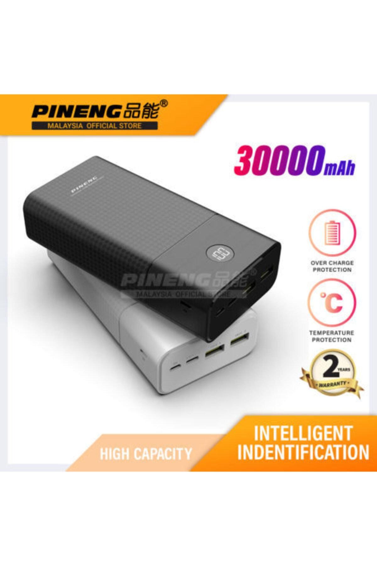 Pineng Powerbank Pn-899pd 30.000 Mah - Siyah 1