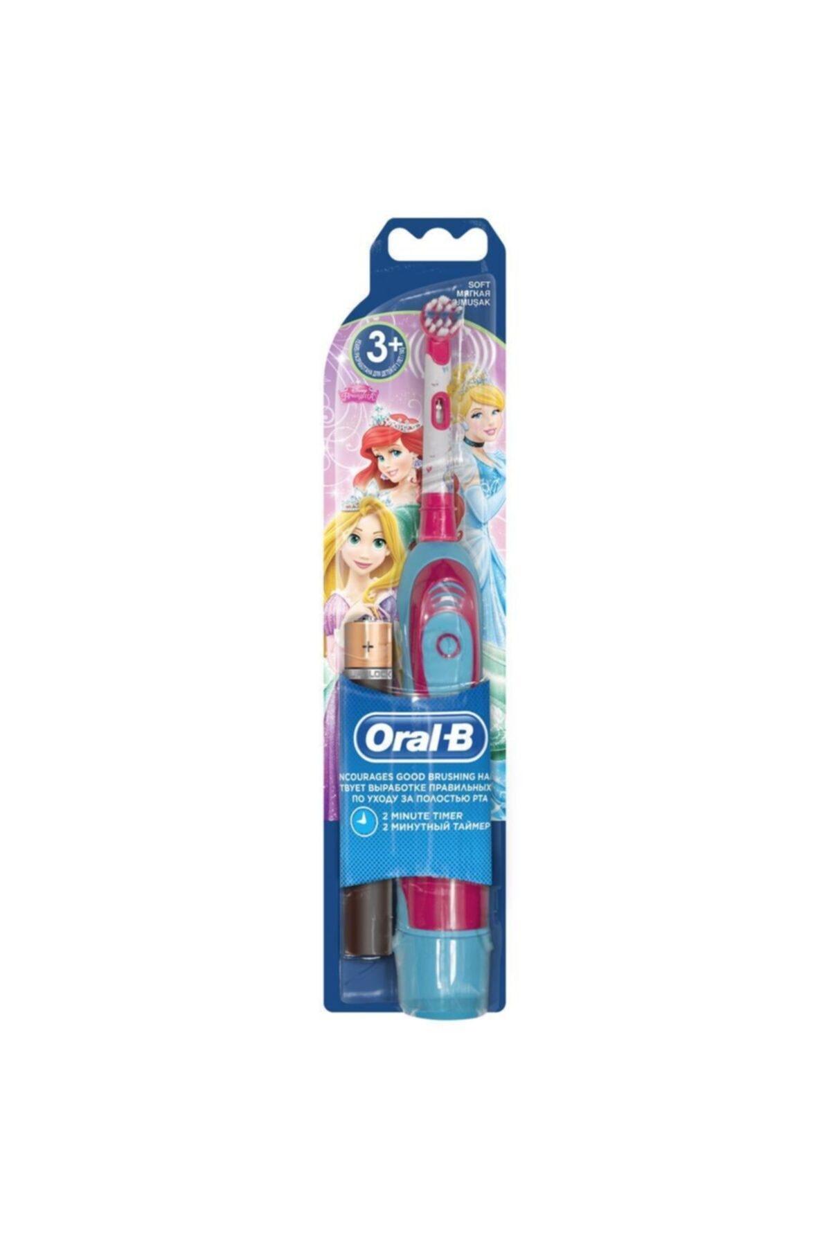 Oral-B Prenses Pilli Çocuk Diş Fırçası 1