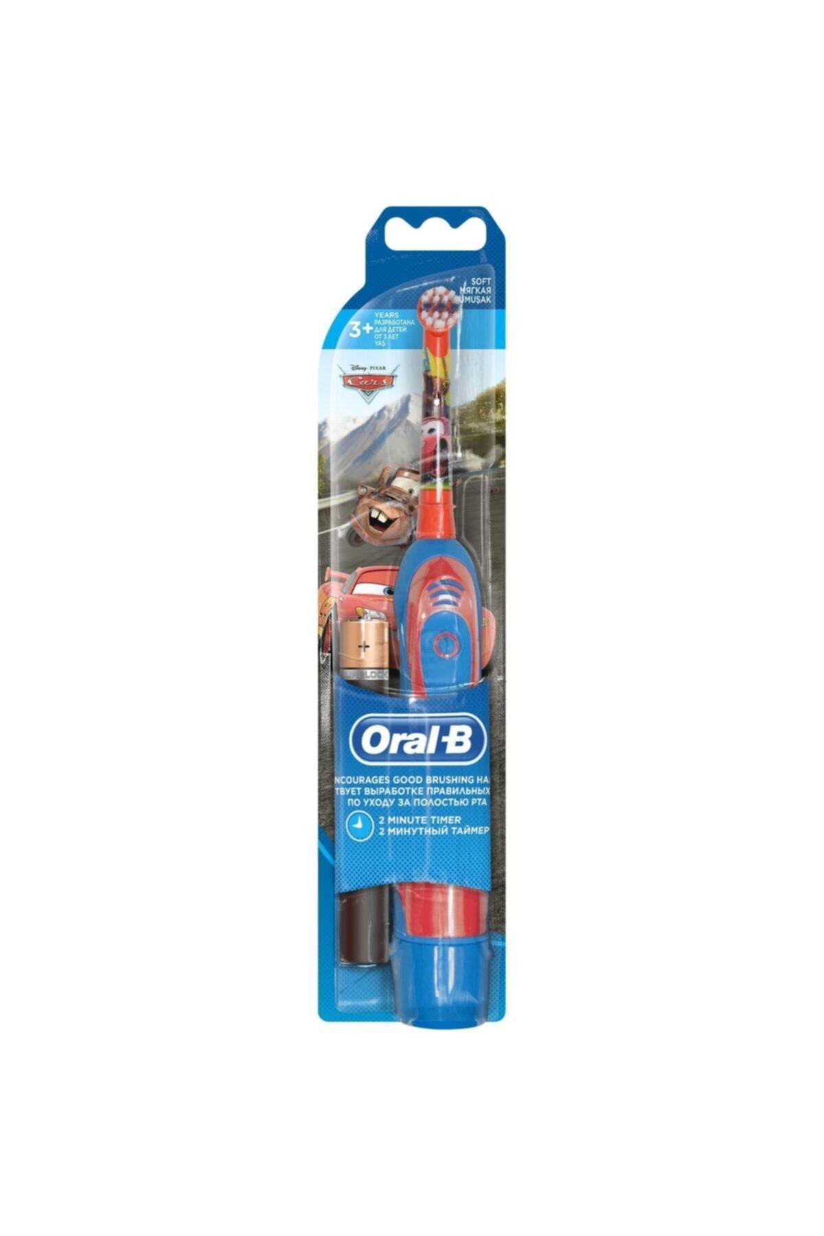 Oral-B Cars Mcqueen Pilli Çocuk Diş Fırçası 1