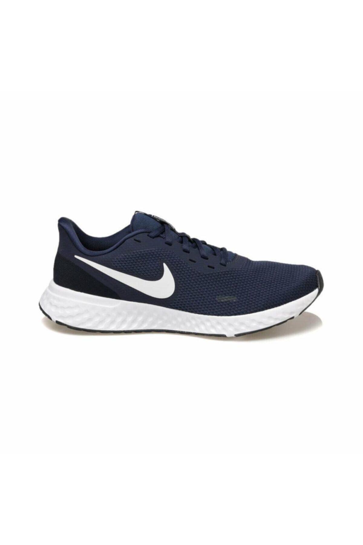 Nike Erkek Lacivert Yürüyüş Koşu Ayakkabı Bq3204-400 1