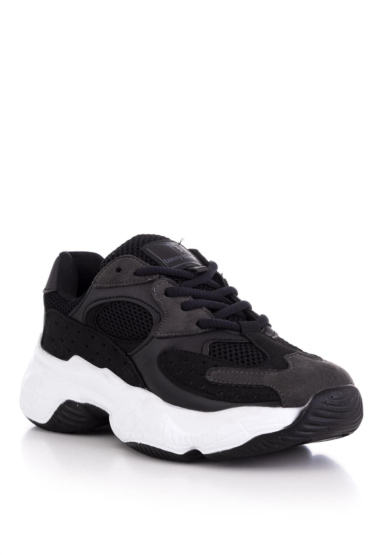Tonny Black Kadın Siyah Spor Ayakkabı Tb284 2