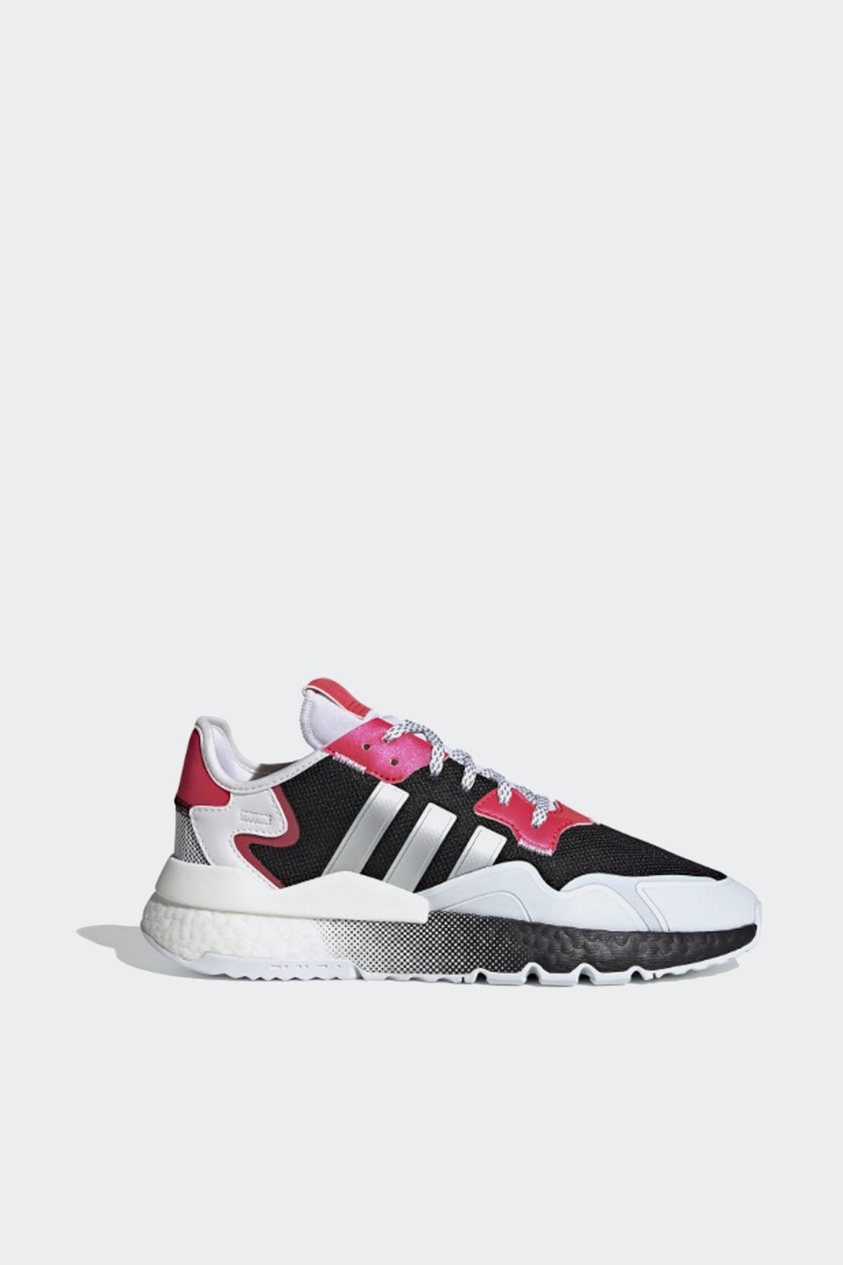 adidas Erkek Beyaz Renkli Nite Jogger Ayakkabı 1