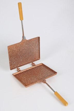 MENZİR Ocak Üstü Granit El Tost Makinesi Bakır