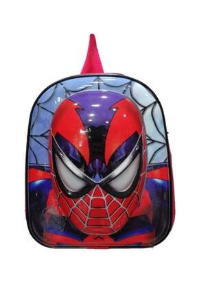 SPIDERMAN 5d Kabartmalı Anaokulu Kreş Ve Günlük Kullanım Çantası Örümcek Adam Sırt Çantası
