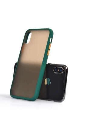 İzmirimStore Iphone Xs Max Kılıf Butonlu Renkli Kapak
