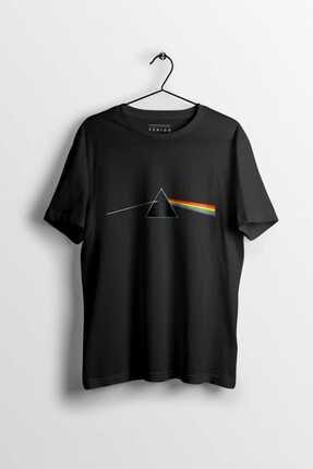 Tshigo Erkek Siyah  Pink Floyd Dark Side of The Moon T-shirt
