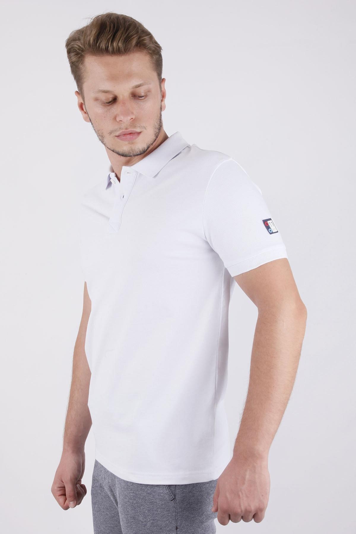 Canelia Erkek  Beyaz T-shirt 2