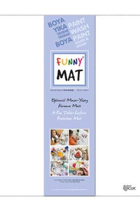 Akademi Çocuk - Funny Mat Funny Mat Eğlenceli Masa-yüzey Koruma Matı Serbest Çalışma