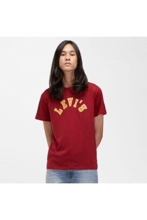 Levi's Erkek Kırmızı Graphic Crewneck T-shirt 22491-0767
