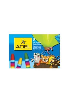 Adel Pastel Boya 8 Renk Karton Kutu
