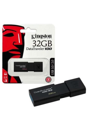 Kingston DataTraveler100 G3 32GB USB3.0 Usb Bellek (DT100G3/32GB)