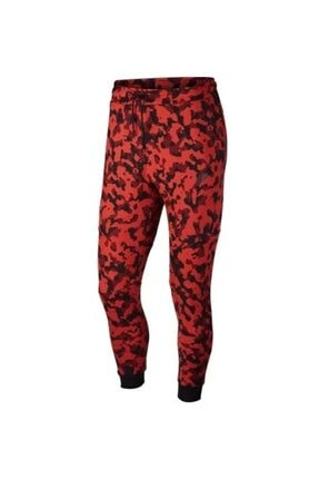 Nike Tech Fleece Printed Joggers Erkek Eşofman Altı Cj5981-603