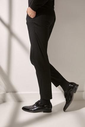 Hotiç Hakiki Deri Siyah Erkek Ayakkabı