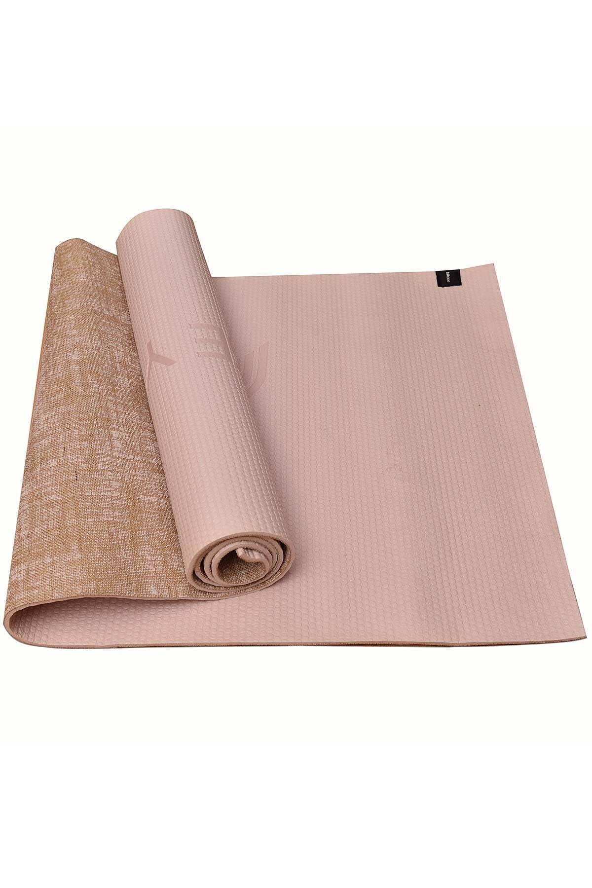 bilcee Bej Yoga Mat CB-654 1