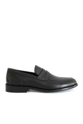 Beta Shoes Erkek Siyah Deri Ayakkabı