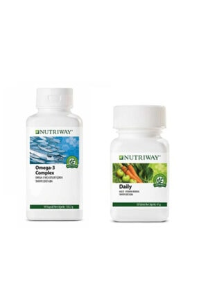 Amway Nutrıway Omega 3 Complex Daıly