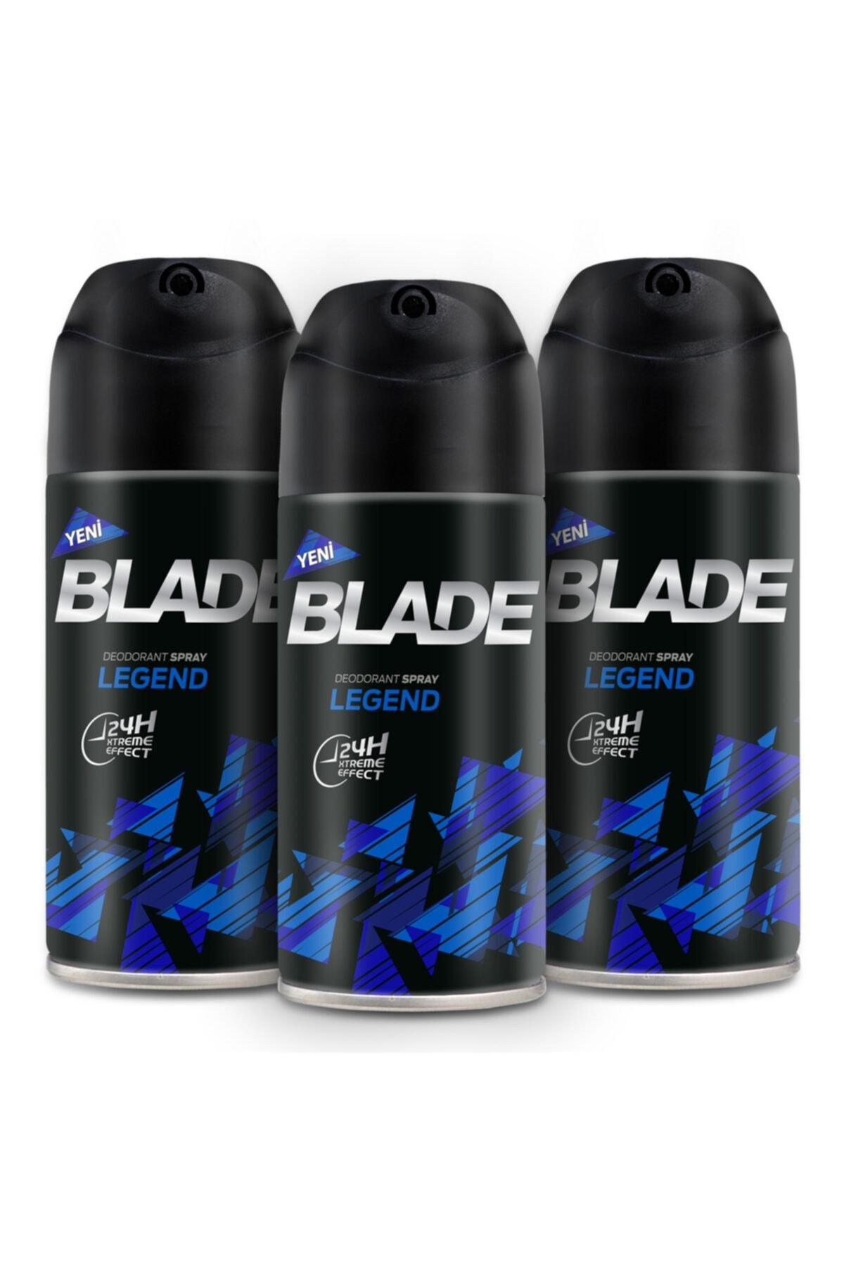 Blade Legend Erkek Deodorant 3x150ml 1