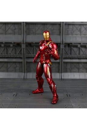 webbey Iron Man Demir Adam 17 cm Action Figure Hareketli Eklem Iron Man Super Heroes