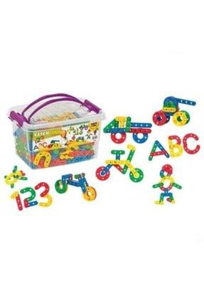 Dede Oyuncak Dede Eğitici Oyuncak Click Clak Box Şekil Kutu 192 Parça