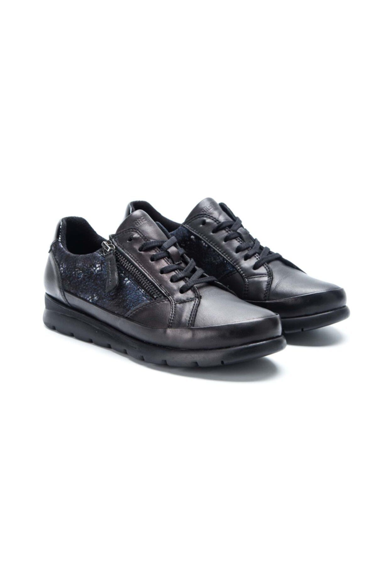 Greyder Kadın Siyah Comfort Ayakkabı (k) 28931 Zn 2