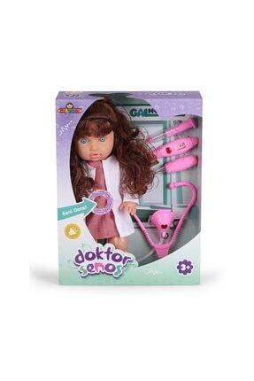 GALTOYS Kutulu Senoş Doktor Bebek Oyuncak Bebek Evcilik Kız Oyun Setleri