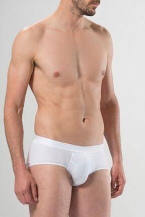 Pierre Cardin Erkek Beyaz Modal Kemerli Slip 3'lü Paket
