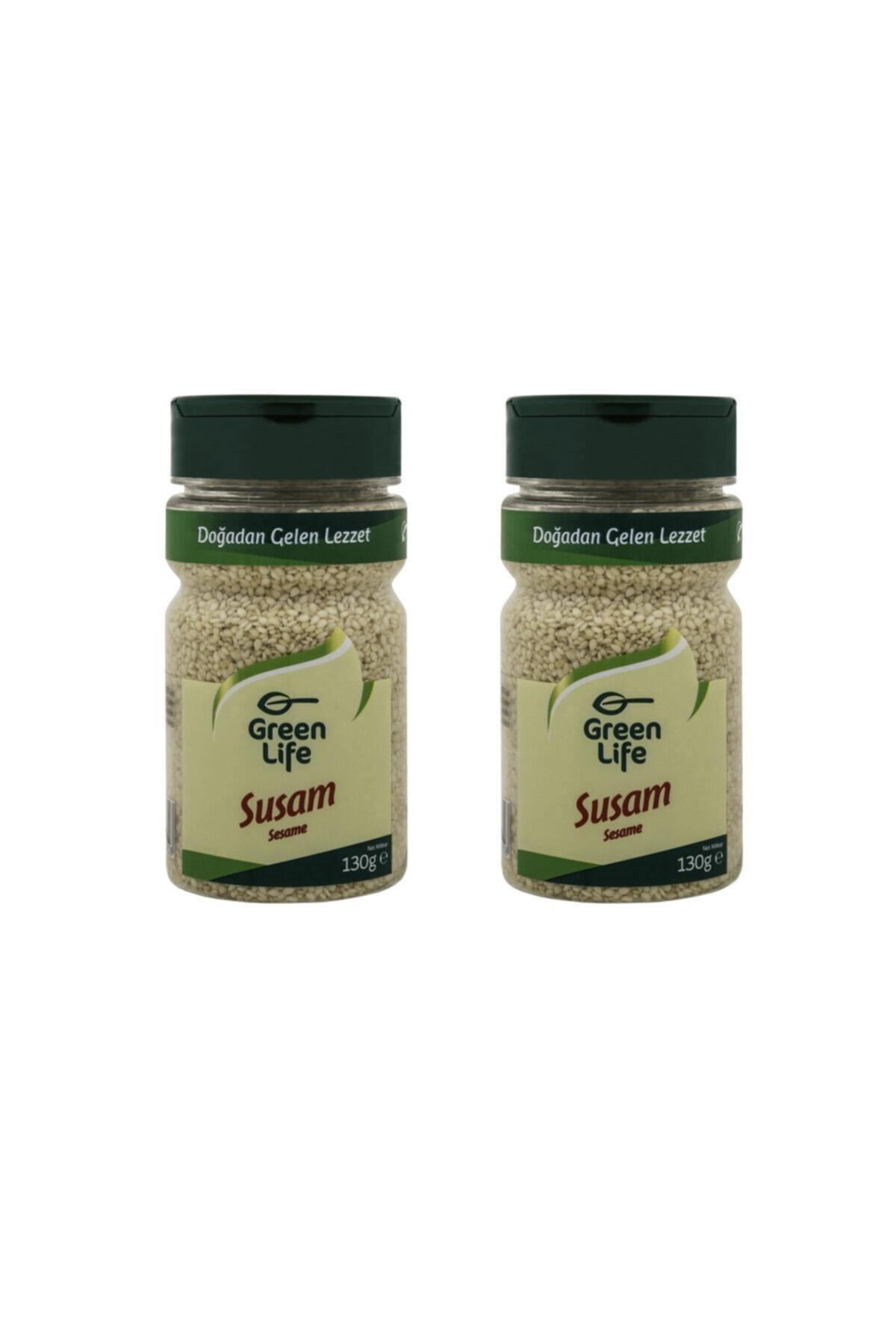 Green Life Susam - 130 Gr - Pet (2 Adet) 1