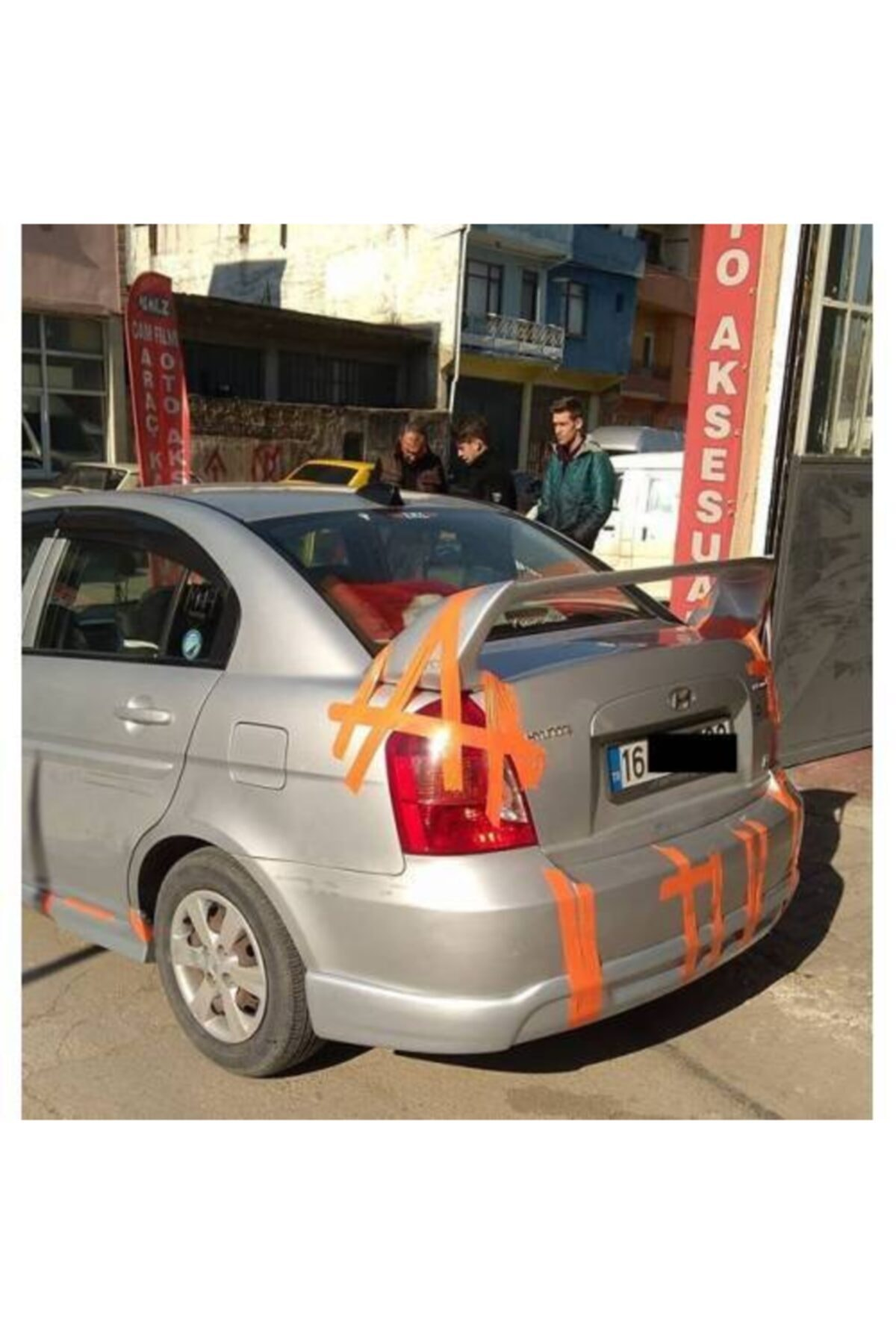 Hyundai Accent Era-2006-2012-arka Ek(fiber-boyasız) 1