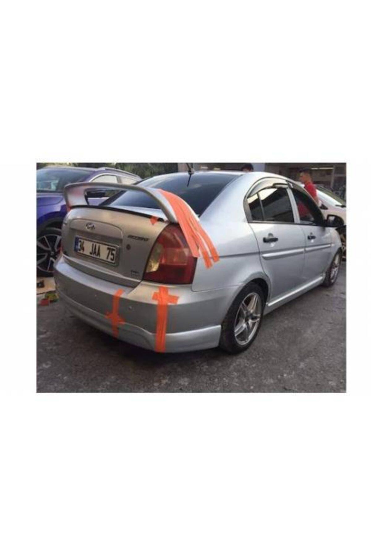 Hyundai Accent Era-2006-2012-yüksek Spoiler(fiber-boyasız) 1