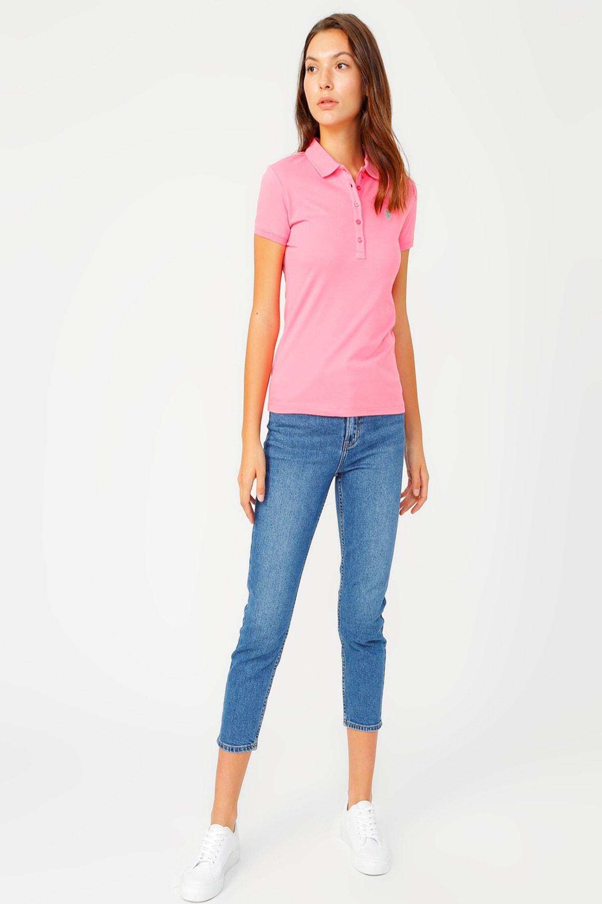U.S. Polo Assn. Kadın T-Shirt G082GL011.000.937511 2