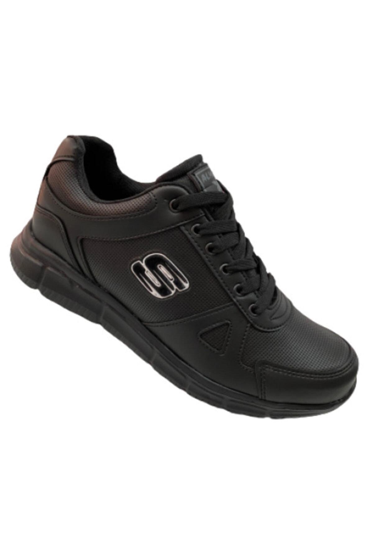 Almera Erkek Siyah Spor Ayakkabı 1