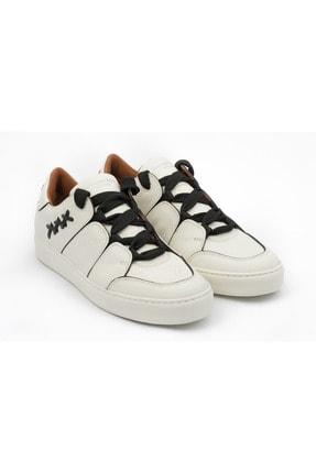 Ermenegildo Zegna Erkek Beyaz Sneakers