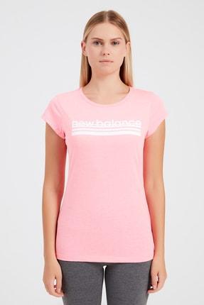 New Balance Kadın T-Shirt - NB VOM TEE - V-WTT918-PNK