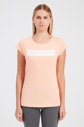 New Balance Kadın Spor T-Shirt - NB VOM TEE - V-WTT918-FJI