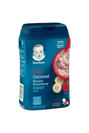 GERBER Oatmeal Iron Banana Strawbrry 227 gr