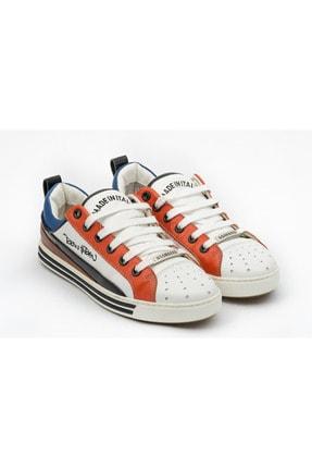 Dsquared Erkek Beyaz Hakiki Deri Sneakers