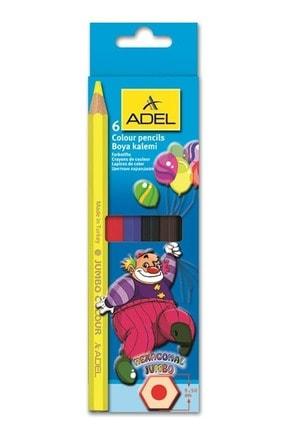 Adel 6 Lı Jumbo Kuruboya Karton