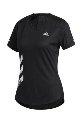 adidas RUN IT TEE 3S W Siyah Kadın T-Shirt 100664225