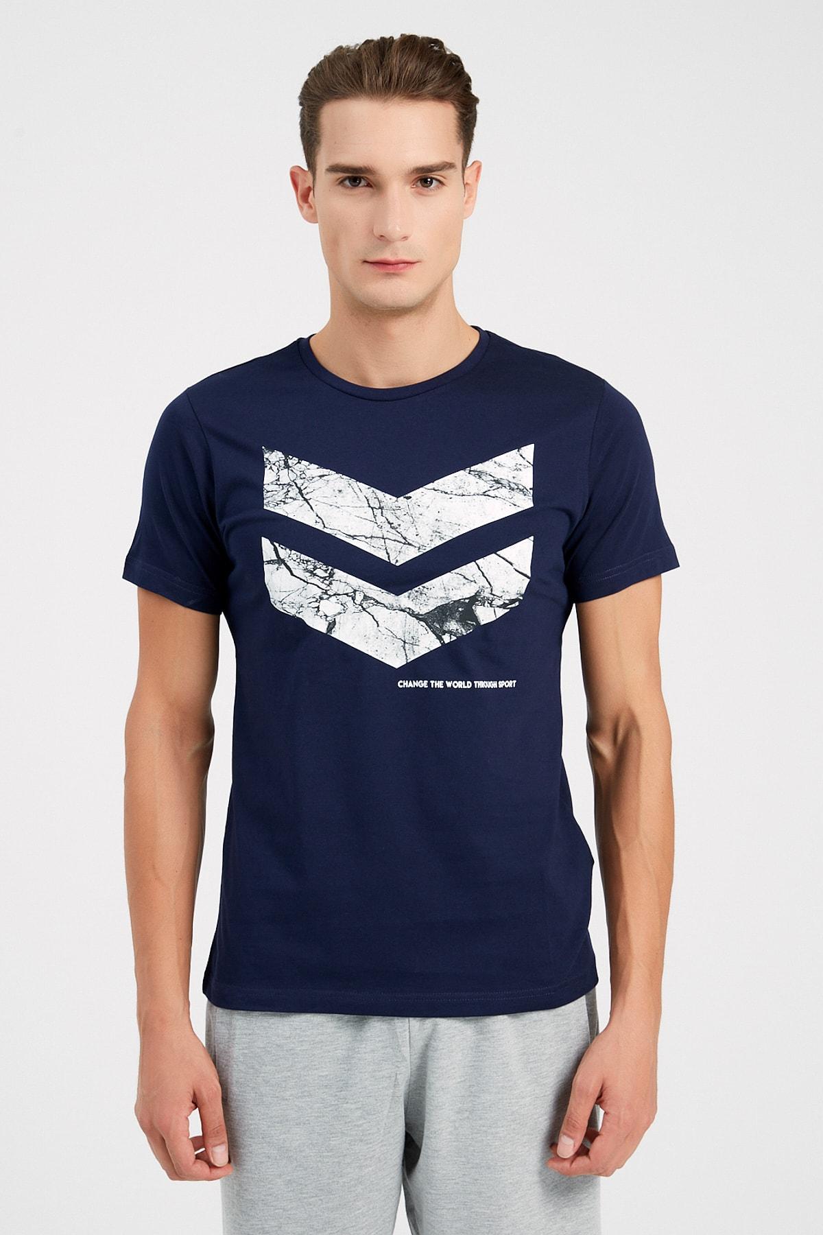 HUMMEL Erkek Spor T-shirt - Hmlsamuel Ss Tee 1