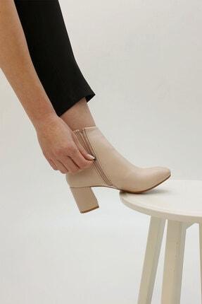 Marjin Anta Kadın Topuklu Botbej