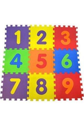 AR PUZZLE WORLDS 9 Parça Rakamlı Oyun Matı 33 cm x 33 cm Sayılar Yer Matı