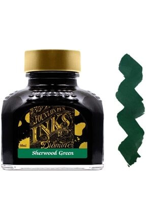 Diamine Dolmakalem Mürekkebi Sherwood Green 80 Ml