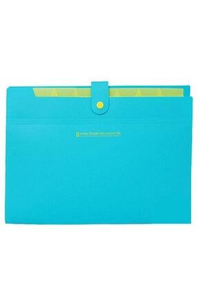 Morning Glory 8 Bölmeli Index Simple Mavi Evrak Dosyası 51530-79169